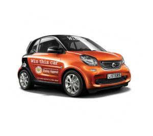 Daisy Appeal Smart Car Picture